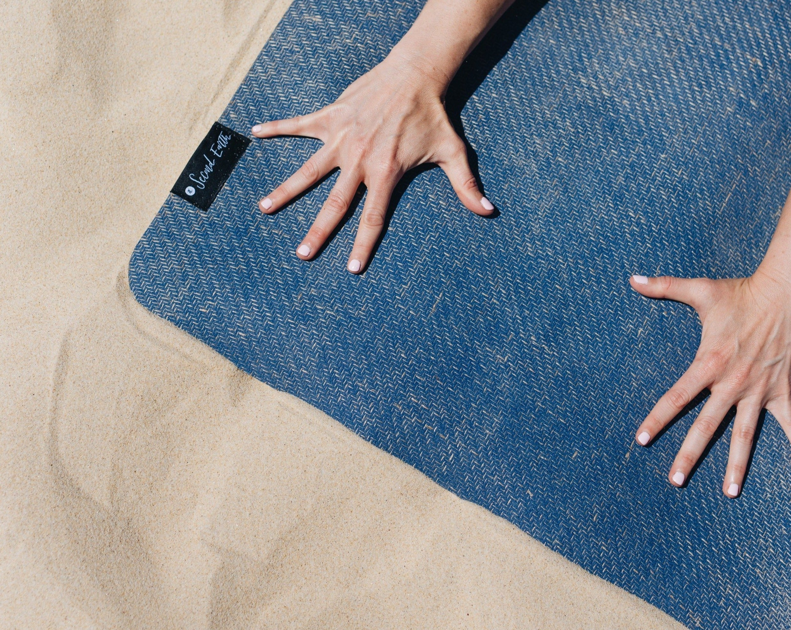 Australia's best yoga mat - 2e Connected Eco Yoga Mat - Ocean Blue