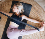 Load image into Gallery viewer, 2E 'Align' Organic Cotton Yoga Strap. Second Earth Australia's best yoga mats