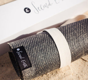 Australia's best yoga mat - 2e Connected Eco Yoga Mat - Earth Black