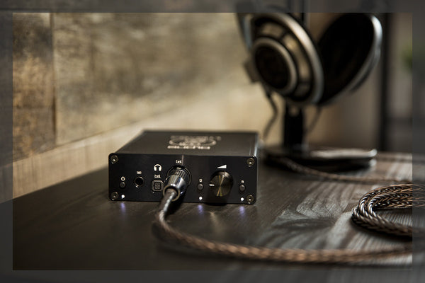 Liquid Carbon 2.0 Headphone Amplifier