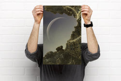 Moonrise on Cygnus IV Poster