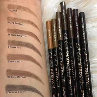 L A Girl Shady Slim Brow Pencil Coma Makeup