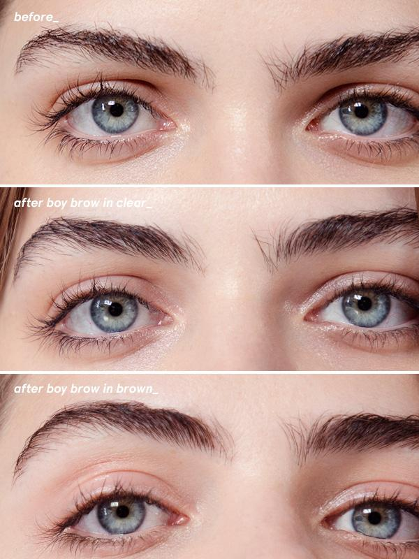 shop for glossier boy brow in singapore boy brow on coma makeup