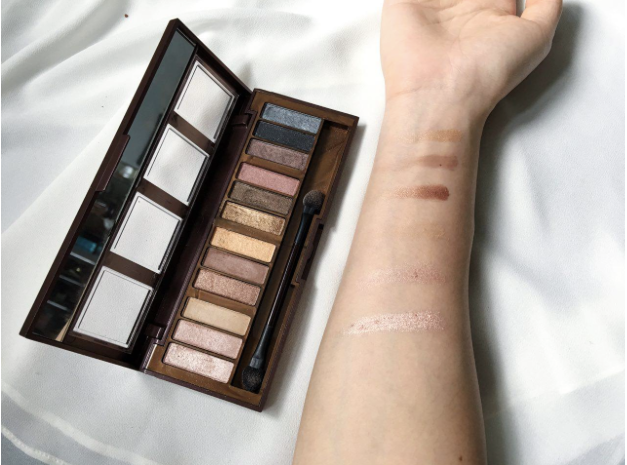 City Color Barely Exposed Palette review