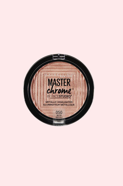 FaceStudio Master Chrome Metallic Highlighter - Molten Rose Gold