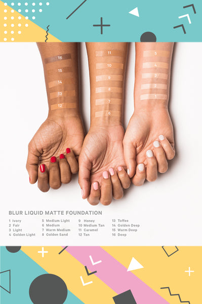 Blur Liquid Matte Foundation I Trending
