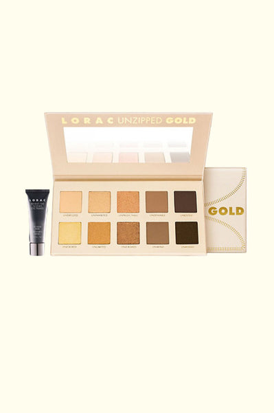 Unzipped Gold Palette