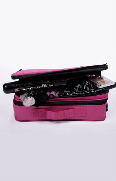 On-the-Go Makeup Organizer Bag - Small