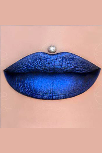 Matte Lip Paint - Blue Dragon