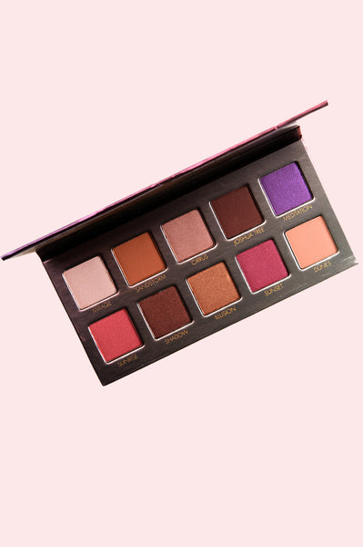 Unzipped Desert Sunset Eyeshadow Palette