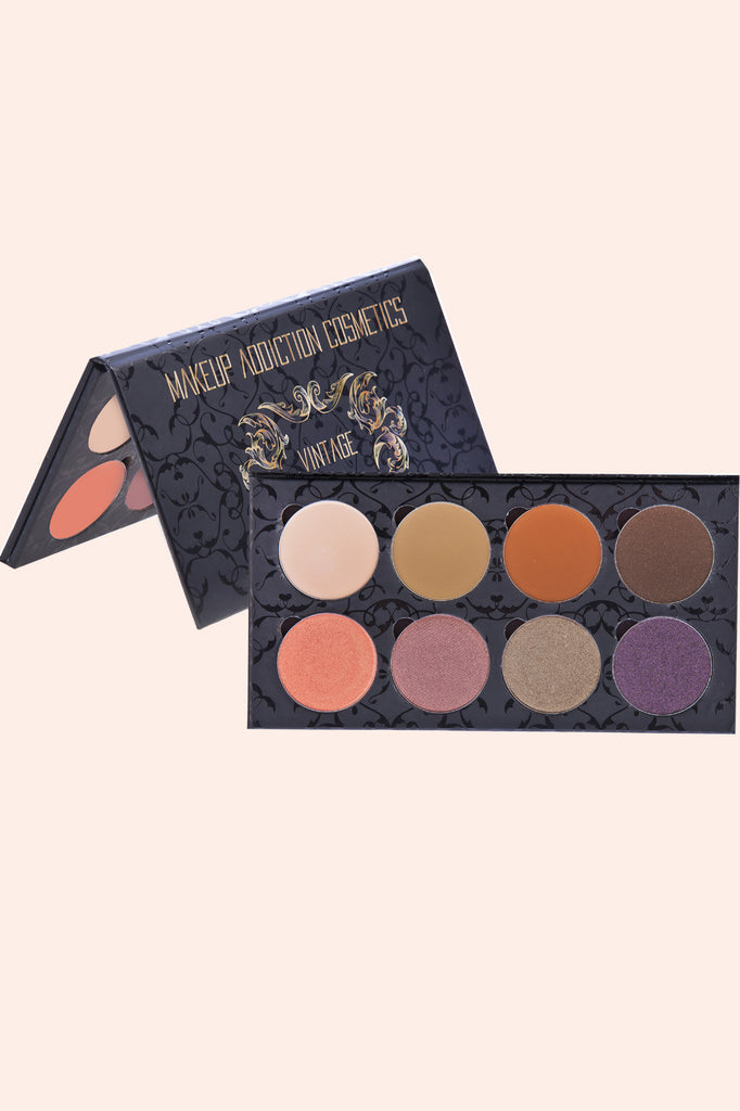 Makeup Addiction Cosmetics Vintage Eyeshadow Palette