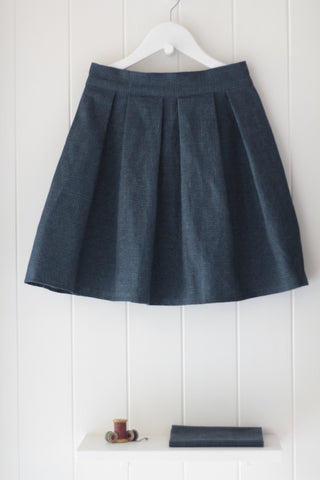Sylvia Skirt - Blueberry