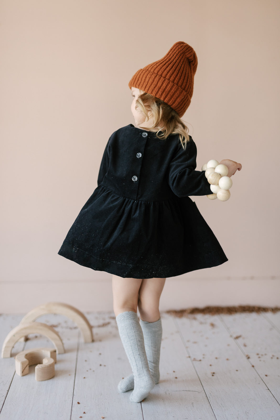 CORDUROY QUINN DRESS