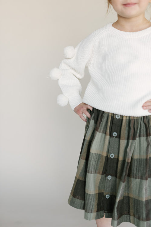 CONCORD BUTTON DOWN SKIRT