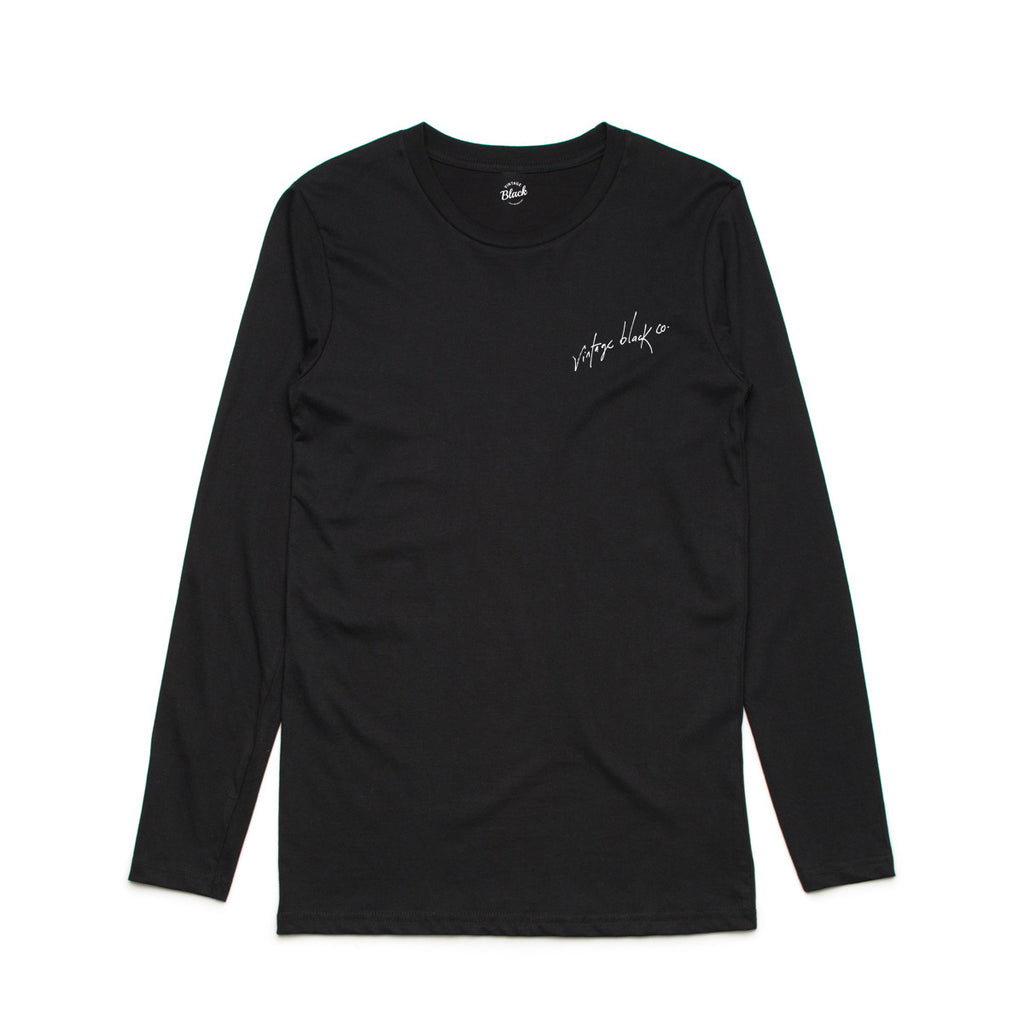 Embroided LS Tee