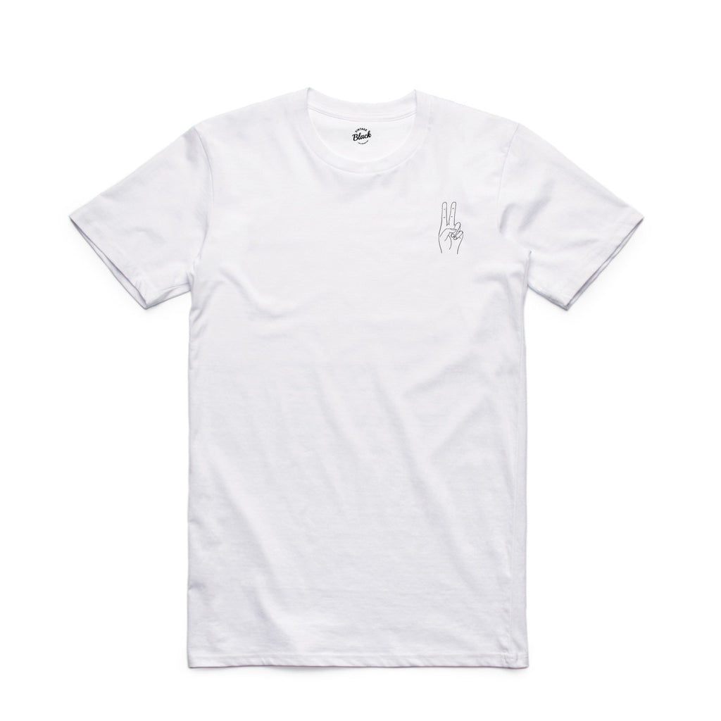 Embroided SS symbol Tee