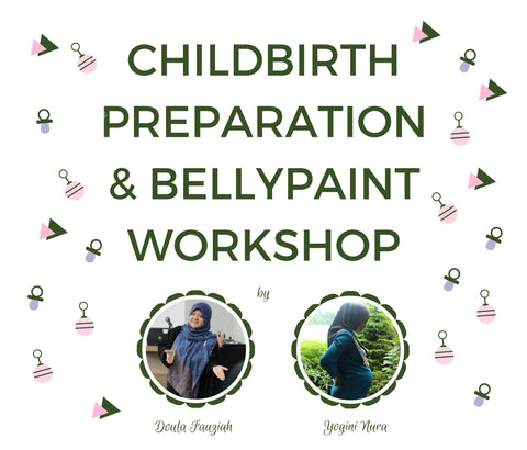 Pair Purchase: Childbirth Preparation & Belly Paint Workshop