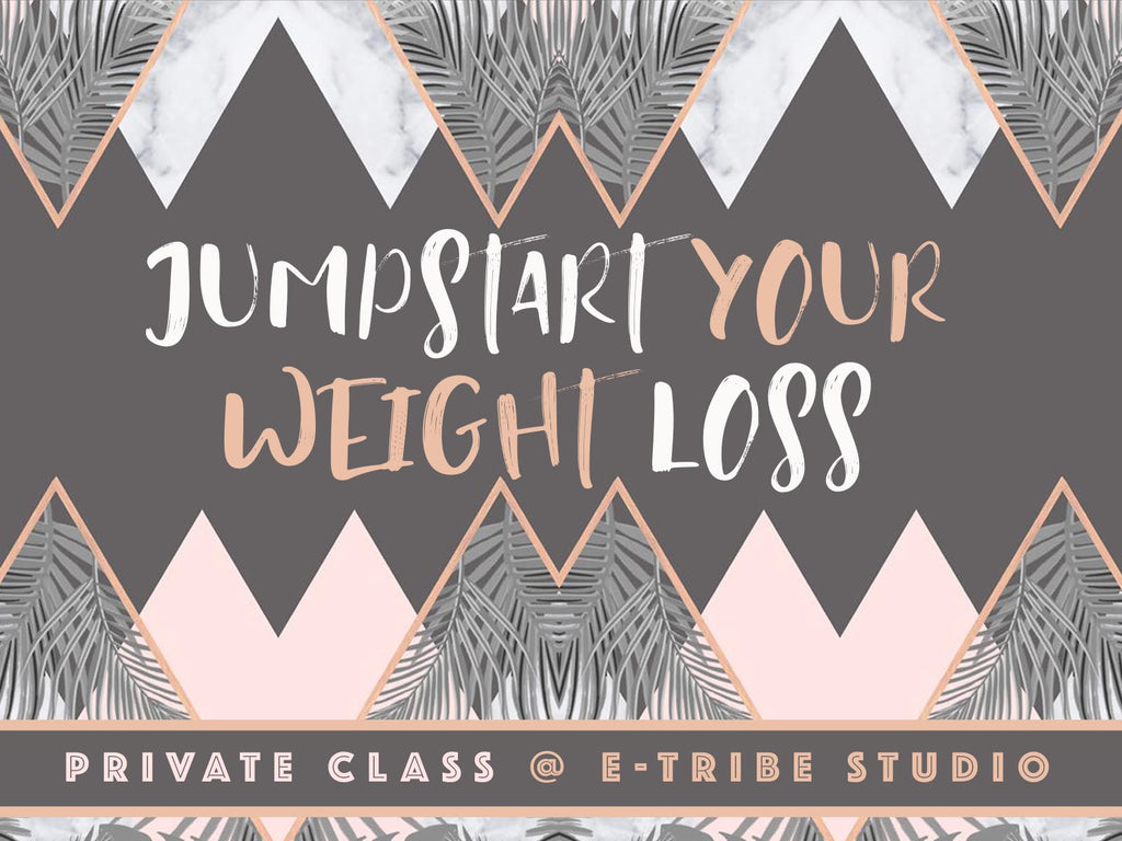 E-TRIBE @ EUNOS: JUMPSTART YOUR WEIGHT LOSS