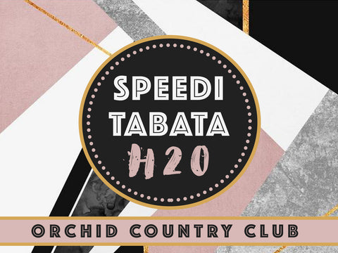 4 Session Pass: SPEEDI TABATA H2O
