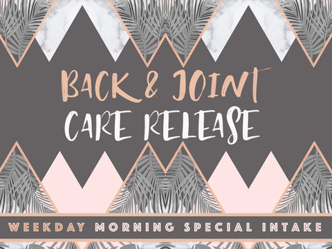 E-TRIBE @ EUNOS: Back & Joint Care Release
