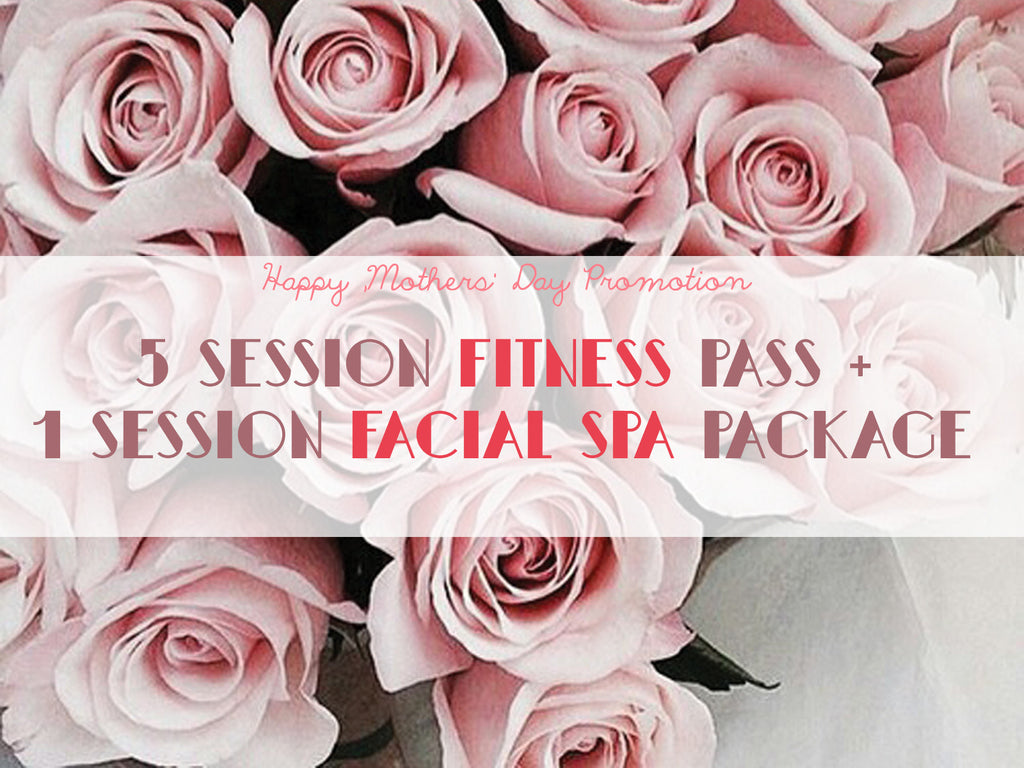 MDP - 5 Session Fitness Pass + 1 Facial Spa Session