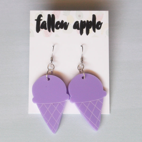 Ice-cream cone dangles