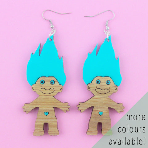*ALMOST GONE!* Troll Doll dangles