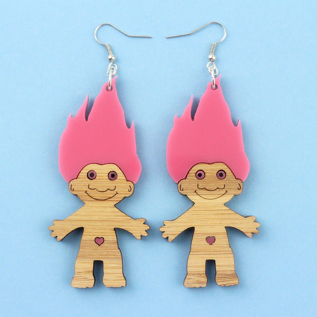 Troll Doll dangles