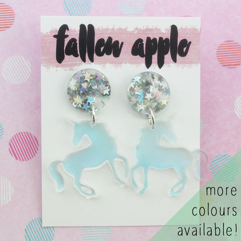 Unicorn dangles
