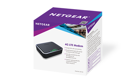 Netgear 4G LTE Modem (bridge mode compatible)