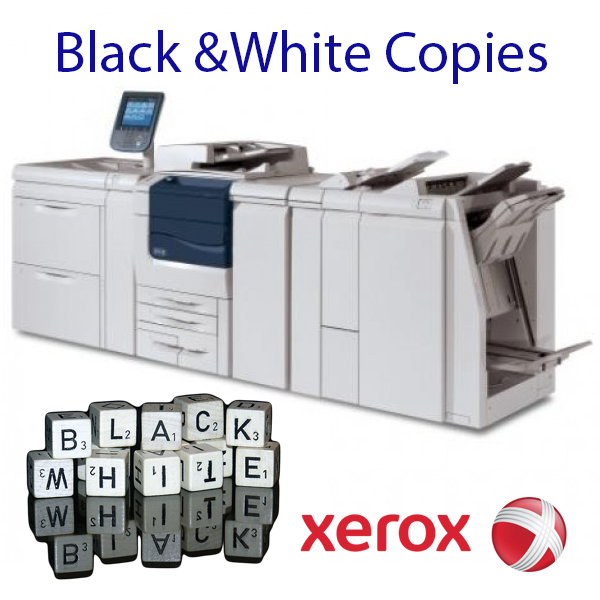 "B&W Print 8.5"" x 14"" <br>20LB White Bond Paper<br><strong><font color=""red"">From 6.9¢ a copy</font></strong><br>Print on BOTH sides"
