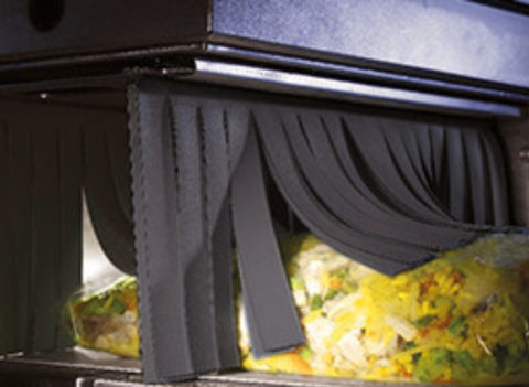 New protective Xray Curtains compliant with direct food contact