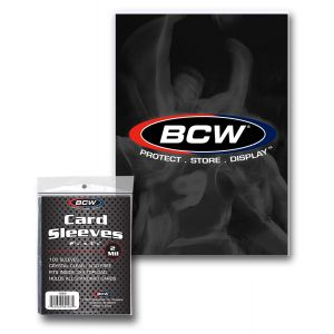 BCW Standard Soft Sleeve 100 Pack