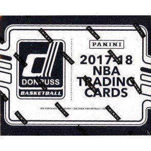 2017-18 Panini Donruss Basketball Fat Pack Box SHIP SEALED ONLY
