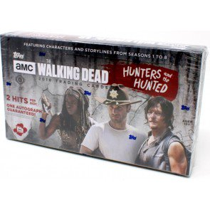 2 BOX LOT 2018 Topps The Walking Dead Hunters and the Hunted Hobby SHIP SEALED ONLY