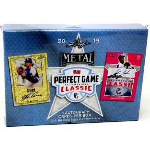 2019 Leaf Metal Perfect Game All-American Baseball Hobby Box