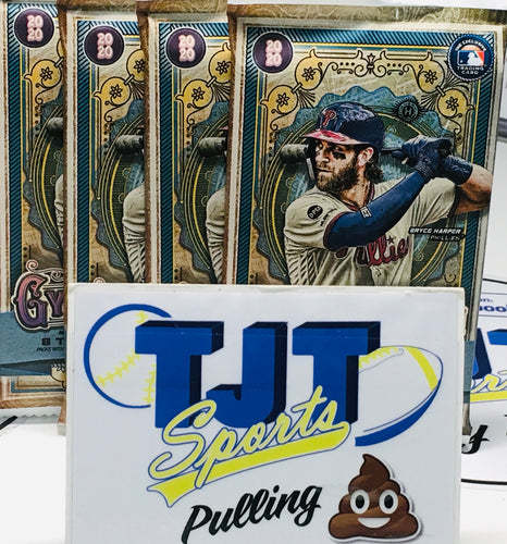 4 PACK LOT 2020 GYPSY QUEEN BASEBALL HOBBY