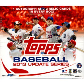 1 PACK 2013 TOPPS UPDATE BASEBALL JUMBO