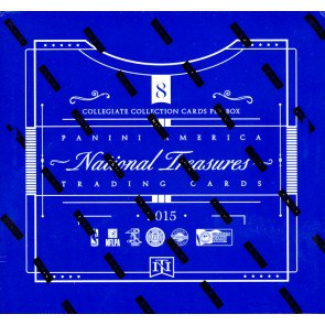 2015 Panini National Treasures Collegiate Multisport Hobby Box