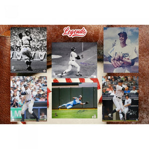 PICK YOUR DIVISION! GOLD RUSH Autographed 16x20 Baseball Edition Box