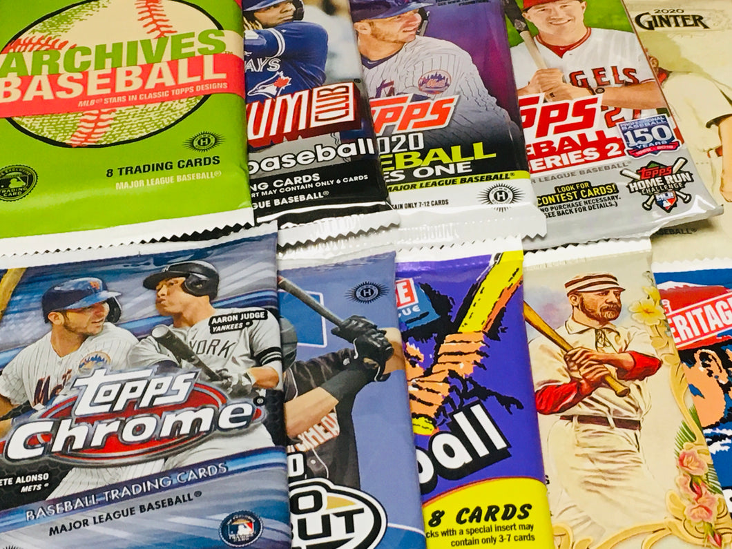 HERITAGE MIKE BASEBALL 10 PACK BUNDLE! BEST VALUE!