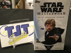 2018 Topps Star Wars Masterworks Hobby Mini Box