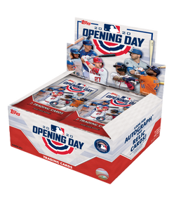 2020 Topps Opening Day Baseball Hobby Box SHIP SEALED ONLY