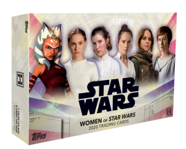 2020 Topps The Women of STAR WARS Hobby Box