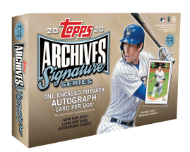 2020 Topps Archives Signature Series Active Player Edition Hobby Box