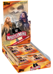 6 PACK LOT 2020 TOPPS ROAD TO WRESTLEMANIA HOBBY