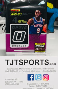 1 PACK 2019-20 DONRUSS OPTIC BASKETBALL HOBBY
