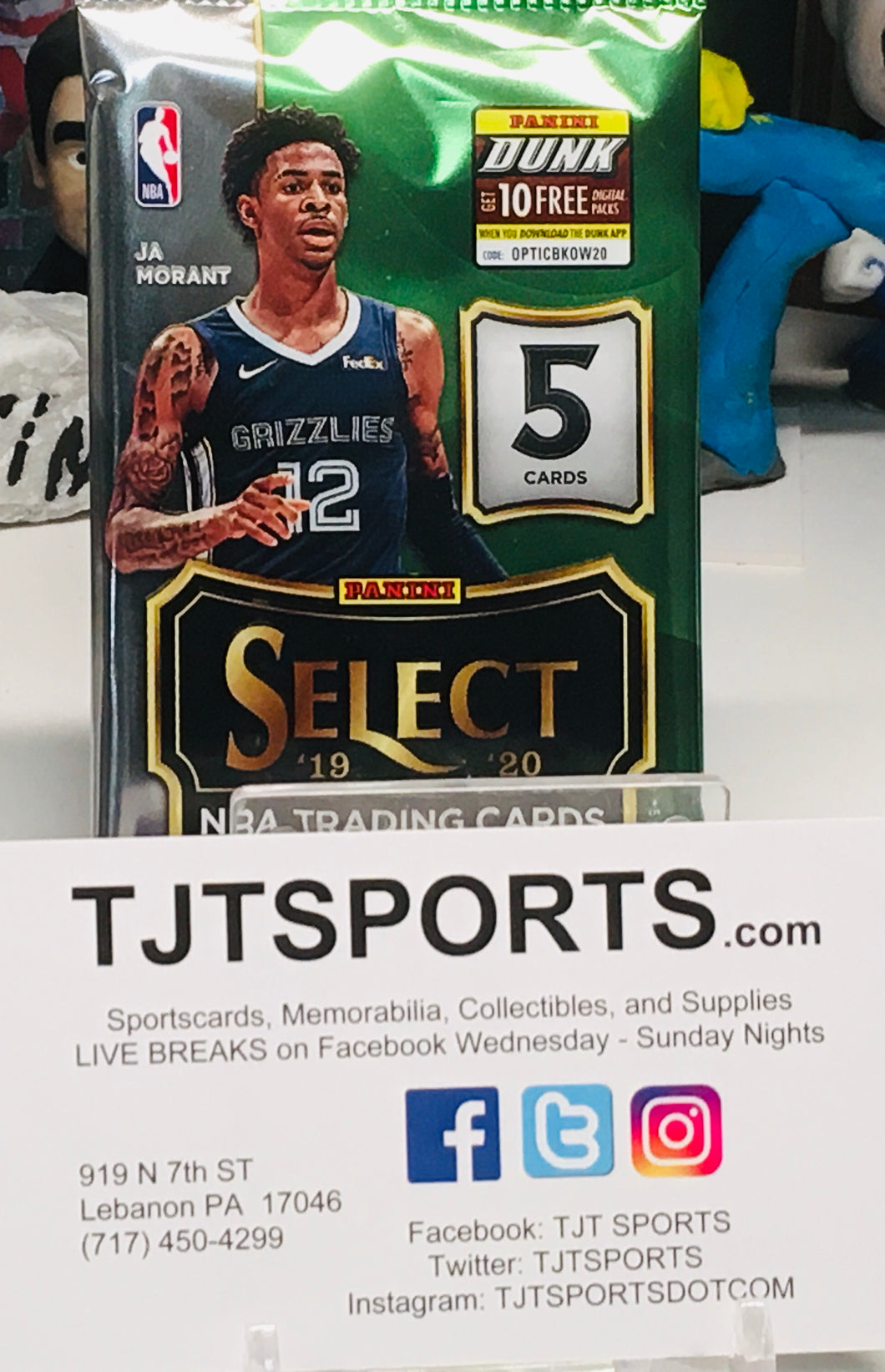 1 PACK 2019-20 SELECT BASKETBALL HOBBY