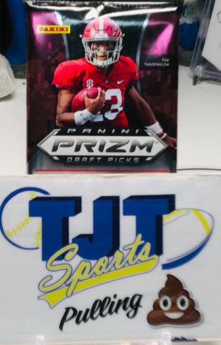 1 PACK 2020 PRIZM DRAFT PICKS FOOTBALL HOBBY
