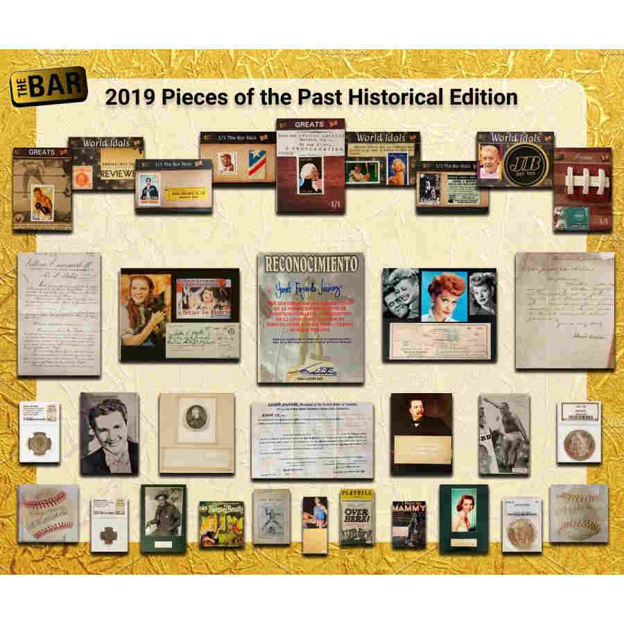 2019 Super Break Pieces of the Past Historical Edition Hobby Box